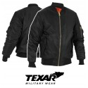 Texar MA-1 Bomber Jacket Black Flyers
