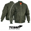 Texar MA-1 Bomber Jacket Olive Flyers