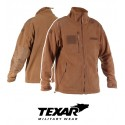 Texar Fleece Jacket ECWCS II Coyote
