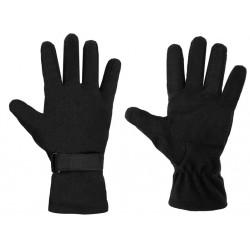 Texar 3-Layer Fleece Gloves Black