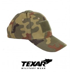 Texar Tactical Cap Polish Woodland