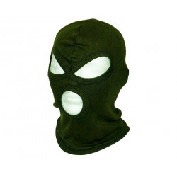 Texar Balaclava 3-Hole Cotton Olive