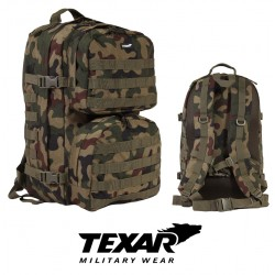 SCOUT BACKPACK POLISH WOODLAND 35L