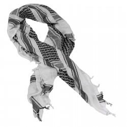 Texar Shemagh Scarf White