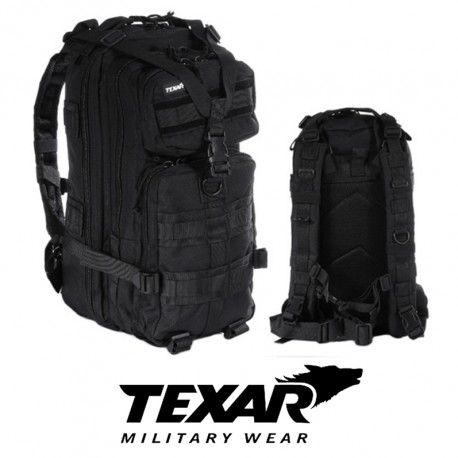 ASSAULT BACKPACK TXR BLACK 25L