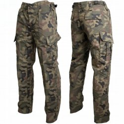 Texar Wz10 Cargo Pants Ripstop Polish Woodland