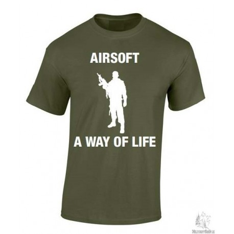 T-Shirt Airsoft A Way Of Life