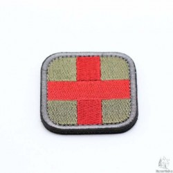 Medic Velcro Patch Olive