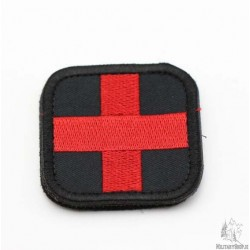 Medic Velcro Patch Black