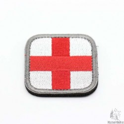 Medic Velcro Patch White