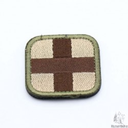 Medic Velcro Patch Coyote