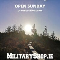 Open Sunday 04:00pm-06:00pmwww.militaryshop.ie If you come on-site, please let us know by e-mail or messenger (we need to open the gate). We accept payments in cash and by credit / debit card. Our localization: https://goo.gl/maps/maXHL799DNH2www.militaryshop.ie@militaryshop.ie @patrolxshop#survival #bushcraft #trip #trekking #ireland #boots #backpack #outdoor #texar #airsoft #army #military #hiking #armyshop