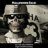 No costume ideas for Halloween? What about soldier outfit!? And best thing, you can use it after Halloween ;) https://militaryshop.ie@militaryshop.ie @patrolxshop#halloween #survival #bushcraft #trip #trekking #ireland #outdoor #texar #airsoft #army #military #armyshop #promotion #discount