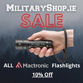 Mactronic Sale! All flashlights 10% OFFhttps://militaryshop.ie/46-flashlightsOffer Ends 01.11.21 At Midnight#survival #bushcraft #trip #trekking #outdoor #hiking #ireland #adventure #camping #mountains #walk #nature #forest #woodland #weekend #mactronic
