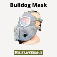 "Bulldog Mask MP-4 Back in Stock!MP-4 gas mask (commonly called ""Bulldog"") - a gas mask used in the Polish Army. This is a Polish copy of the American M-17 mask. Manufactured until the 90s. The mask protects against the effects of poisonous chemicals, biological weapons and against radioactive substances.https://militaryshop.ie/army-surplus/273-polish-army-gas-mask-mp-4-bulldog.html#staysafe #survival #bushcraft #trip #trekking #outdoor #texar #airsoft #army #military #hiking #armyshop #ireland #adventure #mask #gasmask #bulldog"