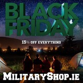 Sale starts at midnight!Everything 15% OFFwww.militaryshop.ie#survival #bushcraft #trip #trekking #outdoor #airsoft #army #military #hiking #armyshop #ireland #adventure #fishing #camping #gear #tactical #tacticalgear #mountains #walk #nature #forest #woodland #blackfriday #sale #midnight