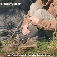 for the rest of the week by appointment. If you come on-site, please let us know by e-mail or messenger (we need to open the gate). We accept payments in cash and by credit / debit card.Our localization: https://goo.gl/maps/maXHL799DNH2 www.militaryshop.ie#survival #bushcraft #army #military #militaryshop
