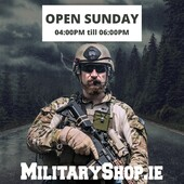 Open Sunday 04:00pm - 06:00pm: If you come on-site, please let us know by e-mail or messenger (we need to open the gate). We accept payments in cash and by credit / debit card. Our localization: https://goo.gl/maps/maXHL799DNH2www.militaryshop.ie@militaryshop.ie#survival #bushcraft #trip #trekking #ireland #boots #backpack #outdoor #texar #airsoft #army #military #hiking #armyshop #adventure #mountains #drogheda