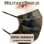 PLEASE WEAR A MASK WHEN SHOPPING WITH USOpen Sunday 04:00pm - 06:00pm: If you come on-site, please let us know by e-mail or messenger (we need to open the gate). We accept payments in cash and by credit / debit card. Our localization: https://goo.gl/maps/maXHL799DNH2www.militaryshop.ie@militaryshop.ie#survival #bushcraft #trip #trekking #outdoor #airsoft #army #military #hiking #armyshop #ireland #adventure #fishing #camping #gear #tactical #tacticalgear #mountains #walk #drogheda