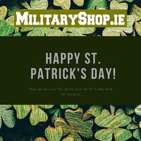 Lá Fhéile Pádraig sona duit! Happy St. Patrick's Day!Only Today All Products 15% OFF: www.militaryshop.ie#survival #bushcraft #trip #trekking #outdoor #texar #airsoft #army #military #hiking #armyshop #ireland #adventure #promo #stpatricksday
