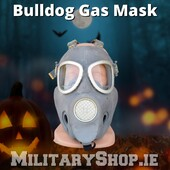 Bulldog Gas Maskhttps://militaryshop.ie/army-surplus/273-polish-army-gas-mask-mp-4-bulldog.html#survival #bushcraft #outdoor #airsoft #army #military #armyshop #ireland #adventure #gear #tactical #tacticalgear #drogheda #halloween #mask #gasmask #bulldogmask