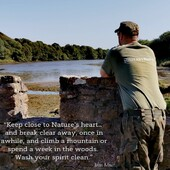 """""""Keep close to Nature's heart… And break clear away, Once in awhile, And climb a mountain Or spend a week in the woods. Wash your spirit clean."""" – John Muirwww.militaryshop.ieUse code: FB21 and get 5% OFF everything"""
