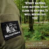 """""""Study nature, love nature, stay close to nature. It will never fail you"""". —Frank Lloyd Wrightwww.militaryshop.ieUse code:FB20 and get 5% OFF everything#survival #bushcraft #trip #trekking #outdoor #airsoft #army #military #hiking #armyshop #ireland #adventure #fishing #camping #gear #tactical #tacticalgear #mountains #walk #nature #forest #woodland"""