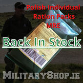 Polish Army MRE's back in stock!https://bit.ly/3g0suIM- - - - - - -#mre #rationpack #food #survival #bushcraft #trip #trekking #outdoor #airsoft #army #military #hiking #armyshop #ireland #adventure #fishing #camping #gear #tactical #tacticalgear #mountains #walk #nature #forest #woodland #weekend #texar