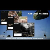 Gift Cards Available Now!https://militaryshop.ie/module/kbgiftcard/giftcards#survival #bushcraft #giftcard #trip #trekking #ireland #boots #backpack #outdoor #texar #airsoft #army #military #hiking #protektor