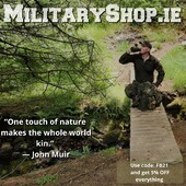 """""""One touch of nature makes the whole world kin."""" ― John Muirwww.militaryshop.ie#survival #bushcraft #trip #trekking #outdoor #airsoft #army #military #hiking #armyshop #ireland #adventure #fishing #camping #protektor #mountains #walk #nature #forest #woodland #weekend #texar"""